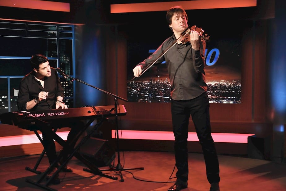 FRANKIE FEATURED WITH GRAMMY WINNING VIOLINIST JOSHUA BELL