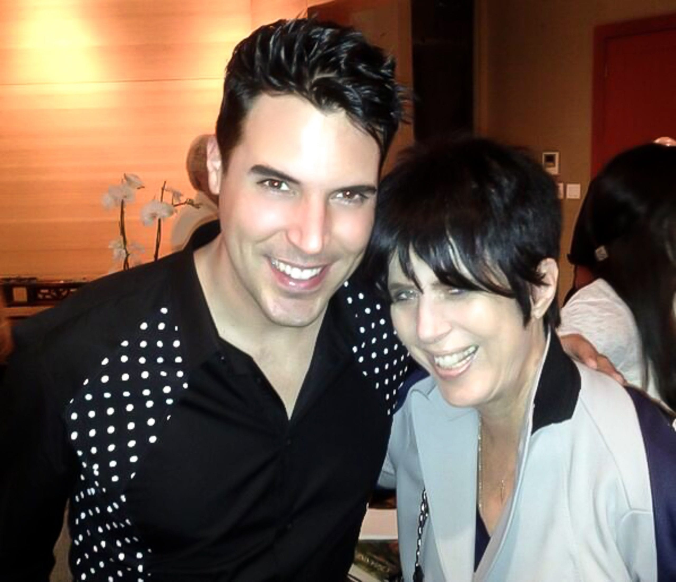 FRANKIE WORKS WITH GRAMMY WINNING SONGWRITER DIANE WARREN