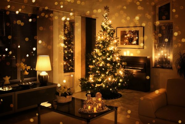 buying a home at christmas time