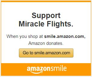 Support miracle flights amazon image
