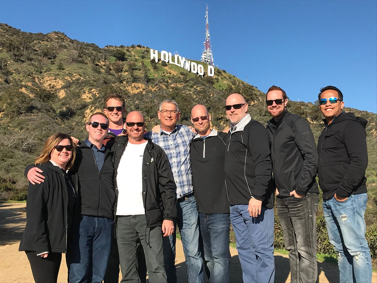 Group on Private Tour in Los Angeles