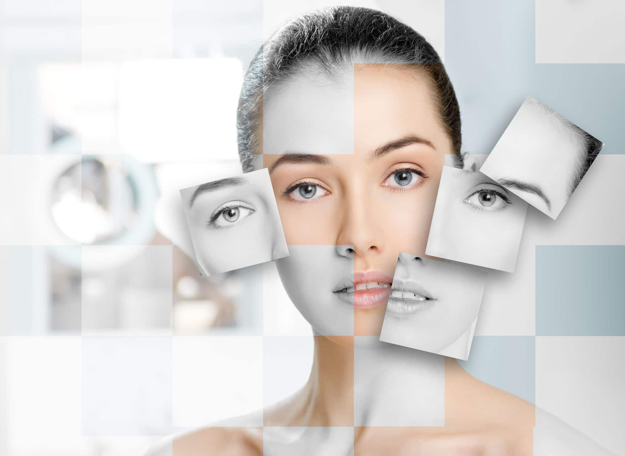 portrait of a woman for skin care